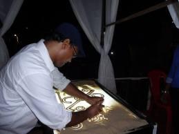 sand artist Badal